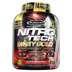 Nitro-Tech 100% Whey Gold 2270g