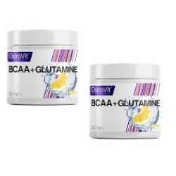 BCAA + Glutamine 200g + 1 UNIDADE OFERTA