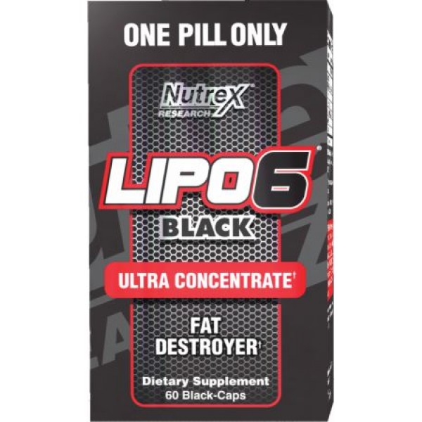 Lipo 6 Black Ultra Concentrate 60caps