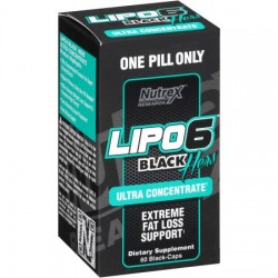 Lipo 6 Black Hers Ultra Concentrate 60caps