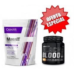 Mass IT 1000g + OFERTA Black Blood Nox 330g