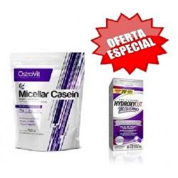 Micellar Casein 700g + OFERTA Hydroxycut Maximo 72caps